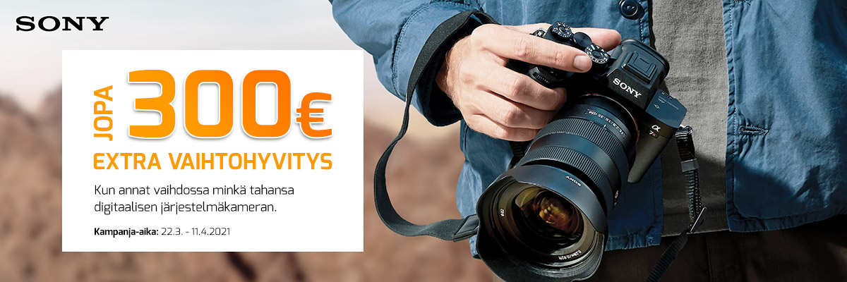 Sony-vaihtotarjous-a7-a9-Kameraliike-kategoria