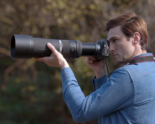 Canon RF 800mm f/11 IS STM objektiivi